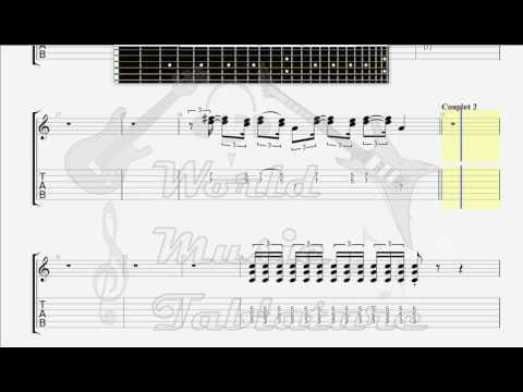 fff   new funk generation guitar tab