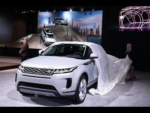 First Look at the 2020 Range Rover Evoque