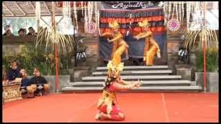 """Legong Lanang """"Jaya Pangus"""" (PKB.2014)"""