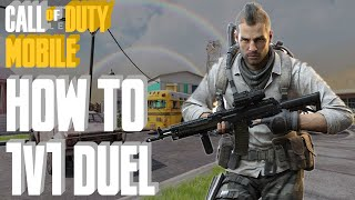 How To Play 1v1 Duel [Private] With Friends In Call OF Duty Mobile