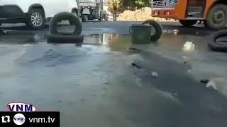 उमा चार रस्ता निकट पीने के पानी की पाइप लाइन में लीकेज.. हजारों गैलन पानी हुआ बर्बाद..