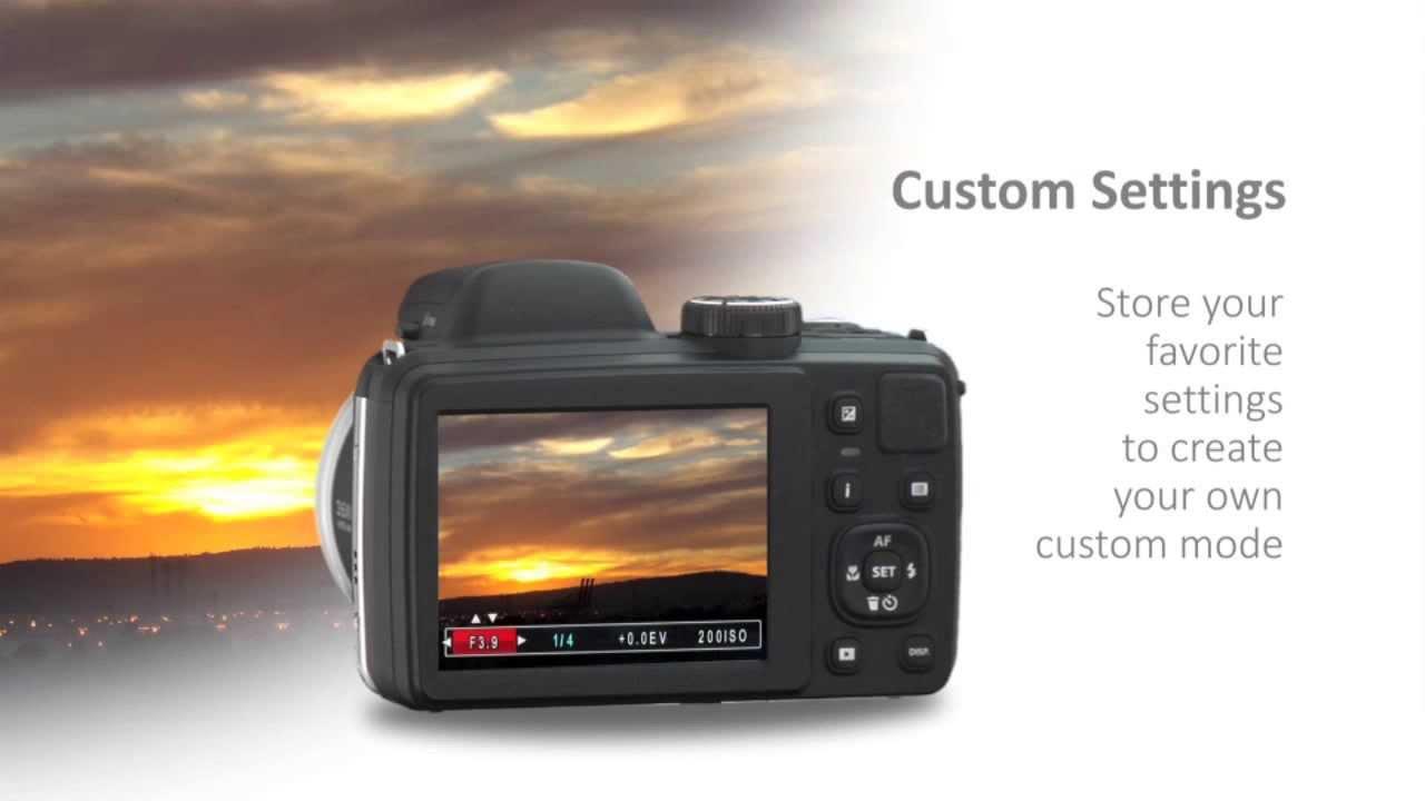 Kodak PIXPRO AZ361 - Custom Settings