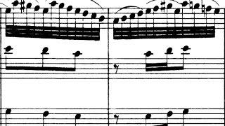 Bach / Heidelberg Chamber Orchestra, 1967: Brandenburg Concerto No. 4 - Allegro