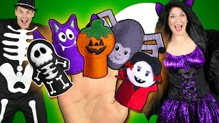 new halloween finger family song spooky monsters finger family