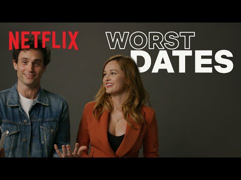 Penn Badgley And Ambyr Childers React To The Internet's Craziest Dating Stories