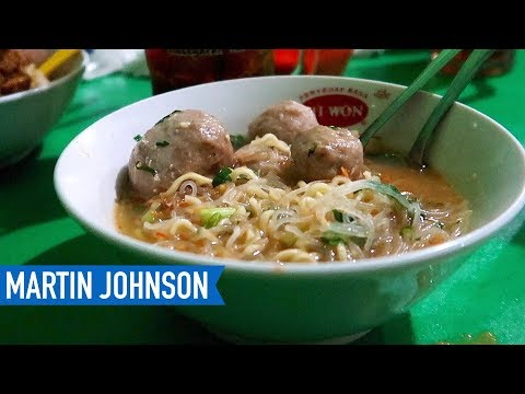 Possibly the BEST BAKSO in Yogyakarta! | Indonesian Food