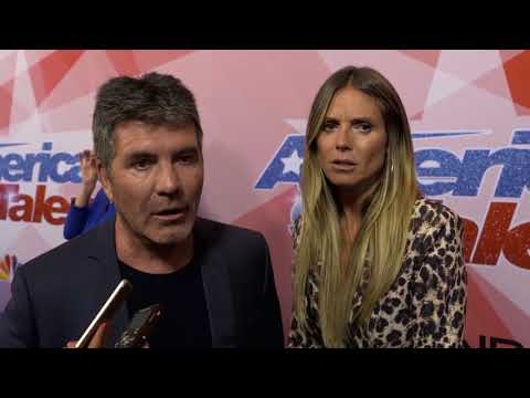 Simon Cowell and Heidi Klum talk Yoli Mayor's performance with Popstar!
