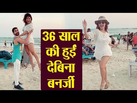 Debina Bonnerjee celebrates her 37th Birthday with Hubby Gurmeet Choudhary in Goa | FilmiBeat