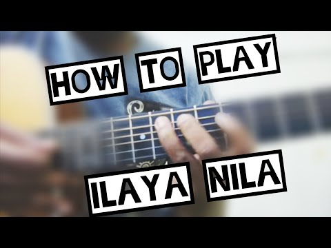 Ilaya Nila Guitar lead - TUTORIAL