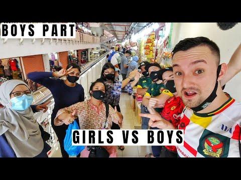Kedah Kuih Challenge On Local Market (Girls vs Boys) - Traveling Malaysia Ep. 117