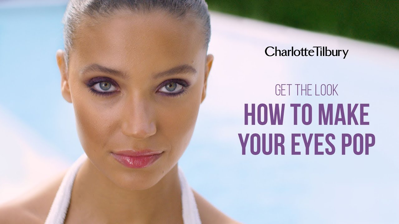 how to make your eyes pop naturally