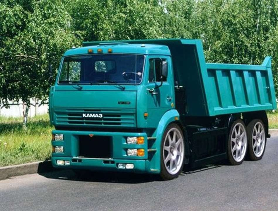 1212 Kamaz Tuning Russian Cars Youtube