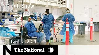 CBC News: The National | Alberta requests fields hospitals for COVID-19 patients | Dec. 2, 2020