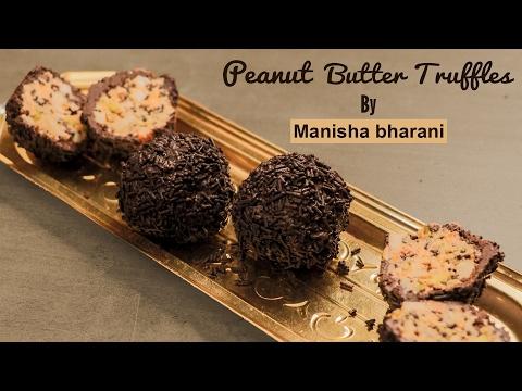 Peanut Butter Truffles - Chocolate Peanut Butter Balls - Easy No Bake Truffle Recipe