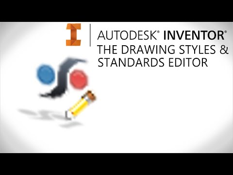 Drawing styles & standards editor explained | Autodesk Inventor
