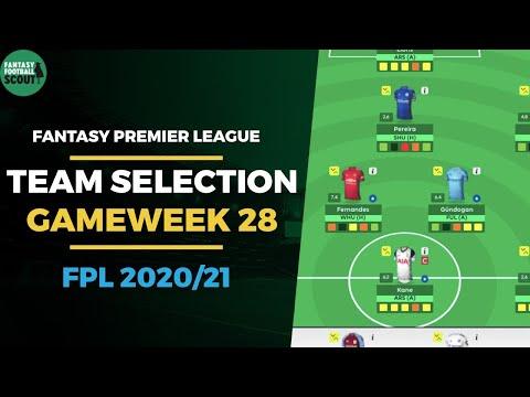 FPL TEAM SELECTION GAMEWEEK 28 | Kane Captain? | Fantasy Premier League Tips 2020/21