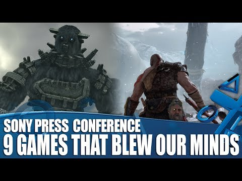 9 Games That Blew Our Minds At The PlayStation Conference