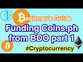 Funding Coins.ph from BDO