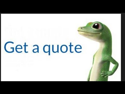 Get A Quote Geico Alluring Geico Price Quote  Youtube