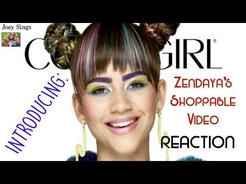 INTRODUCING: Zendaya's Shoppable Video | REACTION