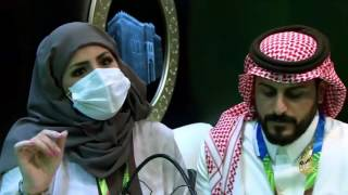 فهد اليحيى وزوجته سعوديان احترفا الرسم على الزجاج
