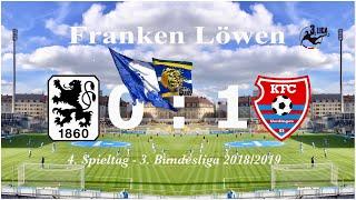 TSV 1860 München - KFC Uerdingen 05  *32-Meter-Freistoß von Phillipp Steinhart kostet uns den Sieg*