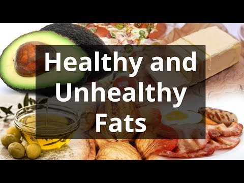 Healthy And Unhealthy Fats (Trans, Saturated, Polyunsaturated, Monounsaturated)