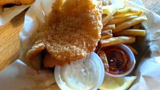 Bennet's Fish Shack's Halibut Fish And Chips