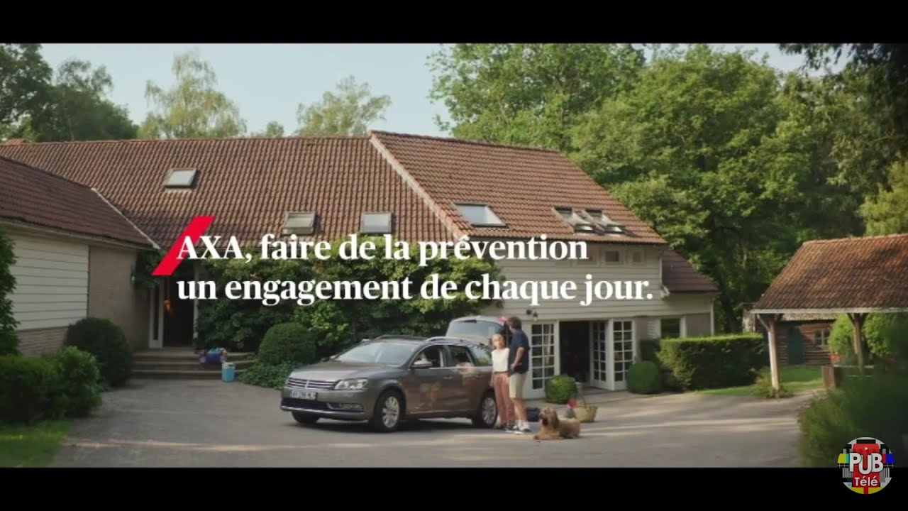 """Musique pub Axa """"faire de la prévention un engagement de chaque jour""""  2021"""