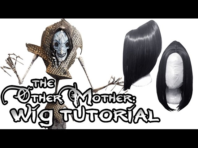 Cosplay Wig Tutorial Coraline S Other Mother Youtube
