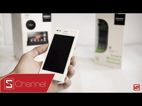 Schannel - Mở hộp Sony Xperia M - CellphoneS