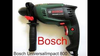 Обзор и тестирование дрели Bosch UniversalImpact 800.