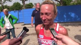 AMSTERDAM: Eva Vrabcová po půlmaratonu