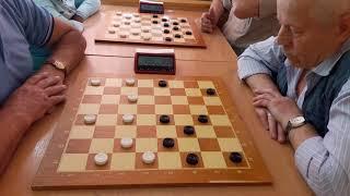как играют в шашки оффлайн. Турнир памяти Марата Геллера 2018