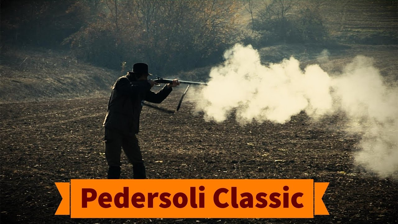 Hunting hare with a Davide Pedersoli muzzle-loading side-by