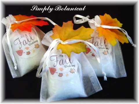 Handmade Soap Bath And Candles Wedding Favorsgifts Youtube