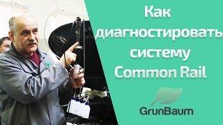 Как диагностировать систему Common Rail? К. Курганов. (обучение GrunBaum CR150/350/550). Часть 2/2