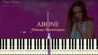 Org ve Piyano Dersleri -Deli Divanenim ( Ziynet Sali ) - Taci Hoca : 0543 232 91 22