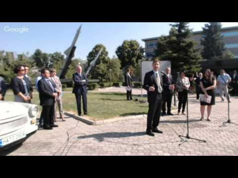 Donation Ceremony of the Atlantic Trabant to the Bulgarian National Museum of Military History, 1...
