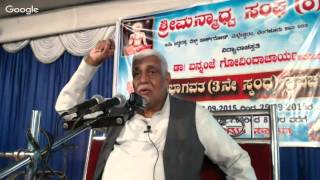 Discourse on Bhagavata 3rd skanda - 21 September 2015