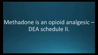 How to pronounce methadone (Dolophine) (Memorizing Pharmacology Flashcard)