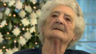 """BBC London - 94 year old Lillian aims for Xmas No 1 with """"The Living Years"""""""