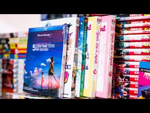 Sakura | Sustain the Industry April 2018: Anime & Manga Haul