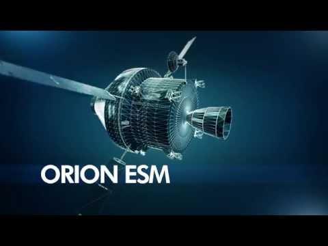 Orion ESM - Service module for NASA's spacecraft Orion - Clip 2