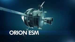 Orion ESM - Service module for NASA