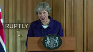 UK: NATO head Stoltenberg and Theresa May emphasise bonds in London