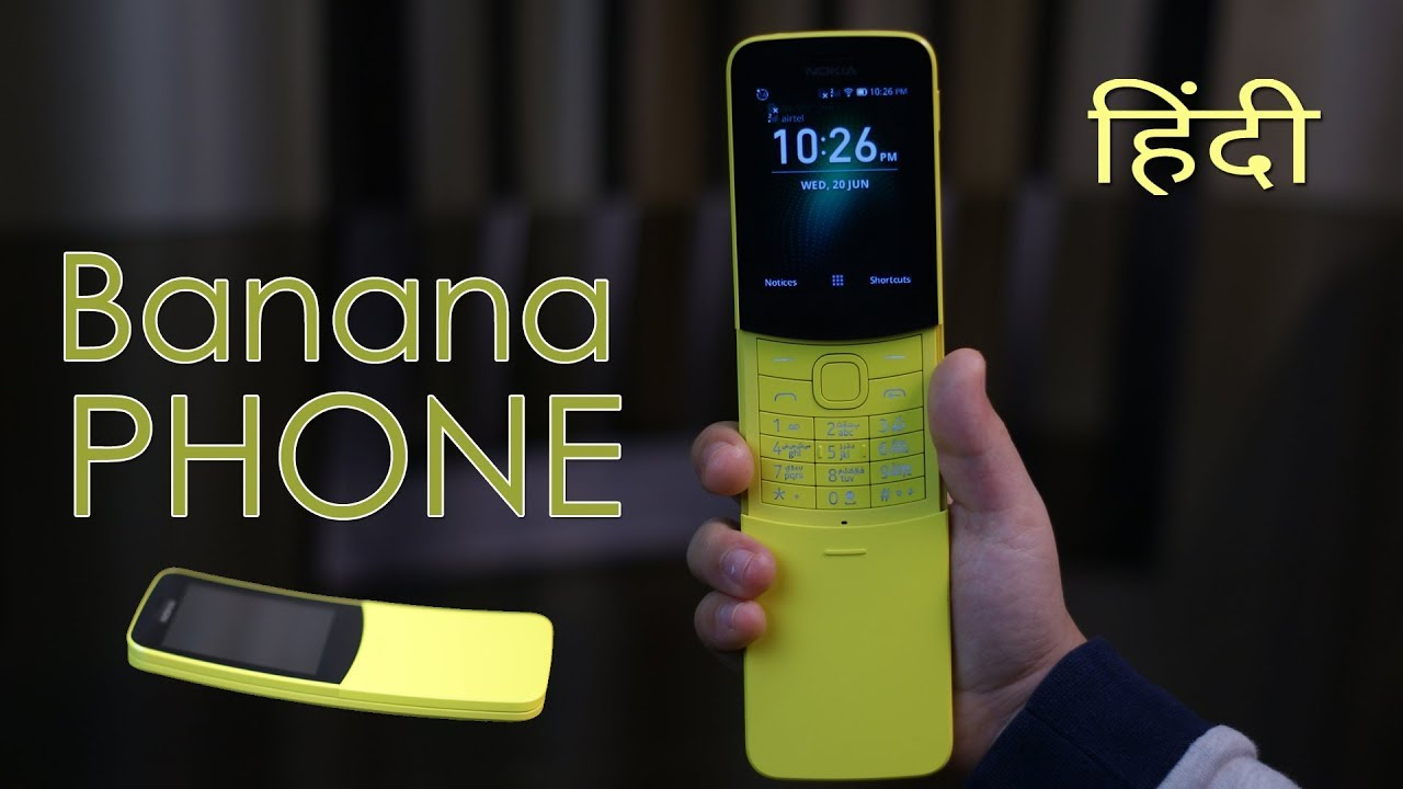 Nokia 8110 4G review - banana phone ????, matrix style feature phone, worth it?