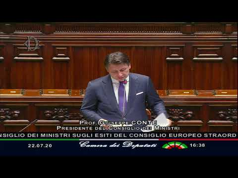 Esiti del Consiglio europeo, l'informativa del Presidente Conte alla Camera