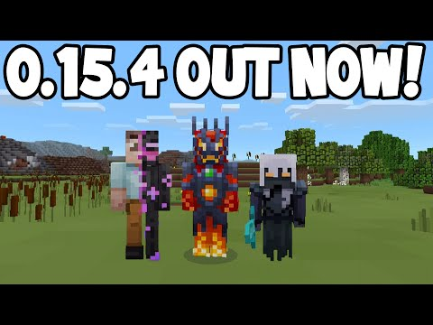 Minecraft Pocket Edition - 0.15.4 Update! - OUT NOW! (IOS/Android)
