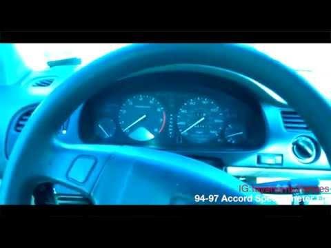 94-97 Honda Accord Gauge Cluster Removal / Repair